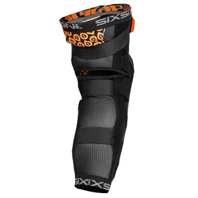 SixSixOne Rage Hard - Protectores - negro
